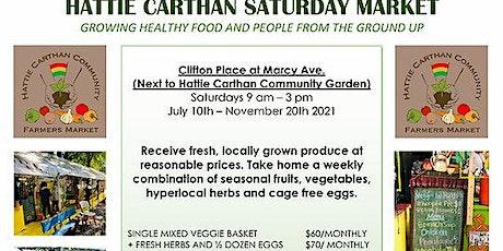 2021 Hattie Carthan Saturday Farmers Market - BedStuy tickets