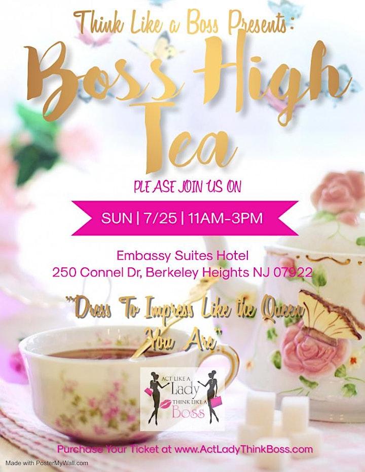 Boss High Tea image