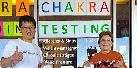 Free Chakra Testing & Hot Detox Tea tickets