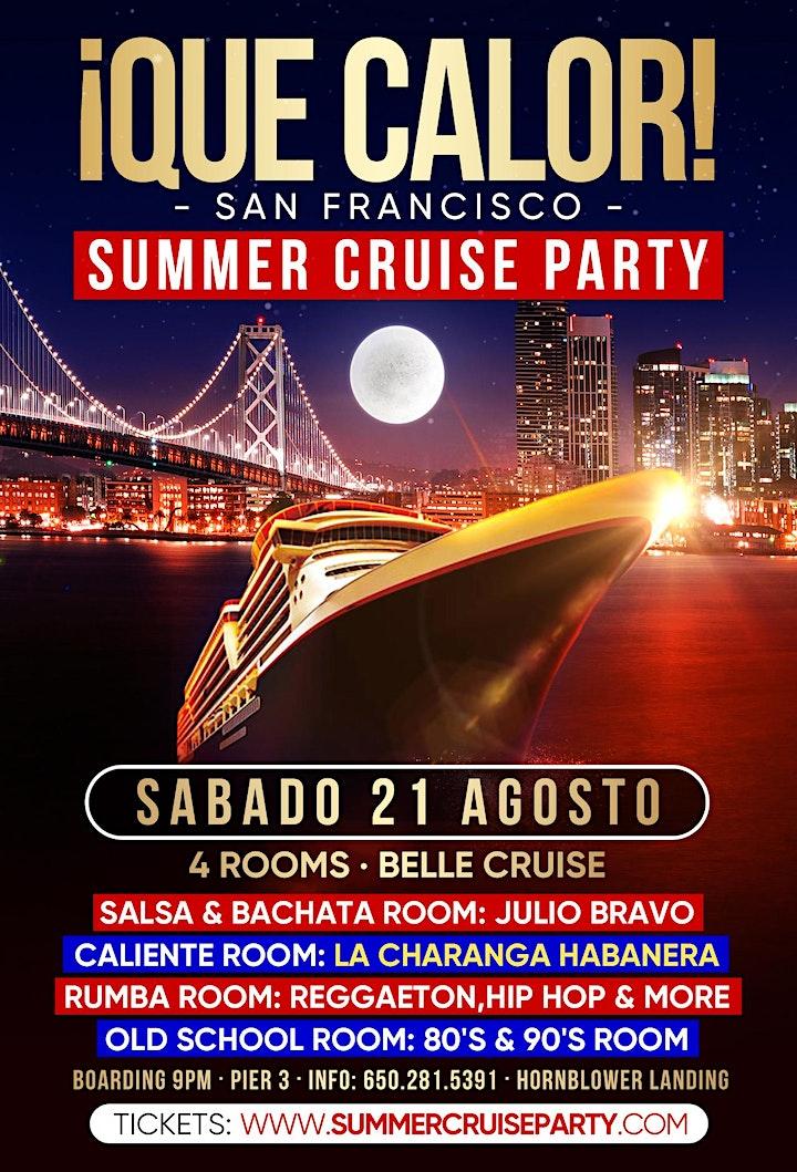 ¡ Que Calor! Summer Cruise Party image