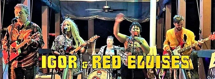 Red Elvises at BrauerHouse Lombard image