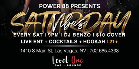 Las Vegas  Vibe Saturdays @ Level One Bar Lounge tickets