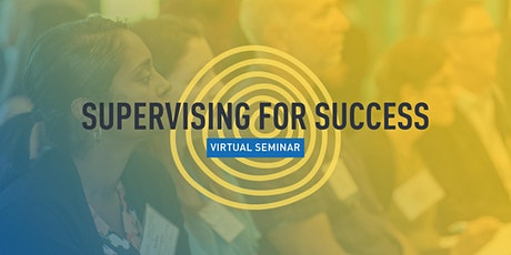 Supervising for Success (2 sessions) tickets
