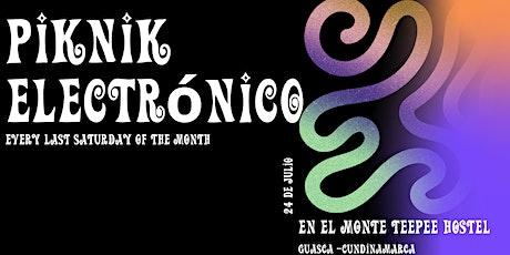 Piknik Electrónico x Monte Teepee Hostel entradas