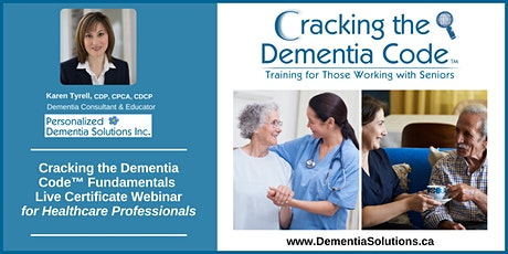 Cracking The Dementia Code™ - Fundamentals for Professionals tickets