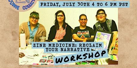 LASC Zine Book Club: Zine Medicine Workshop tickets