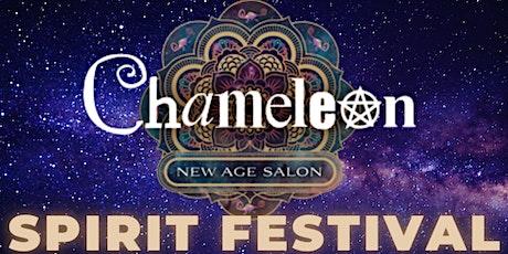 Spirit Festival - Chameleon New Age Salon - MASSIVE 2 day event! tickets