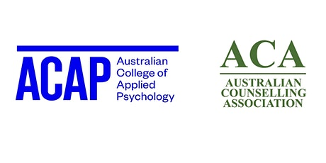 The Counselling Industry in the Australian Context w/ ACAP & the ACA tickets