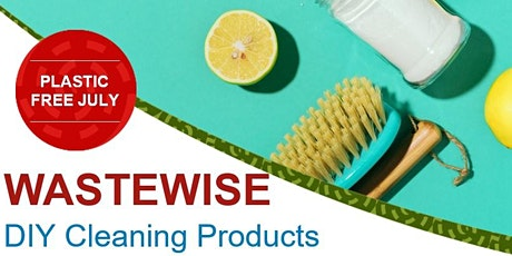 Plastic Free July DIY Cleaning Products tickets