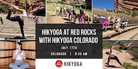 Hikyoga at Red Rocks with Hikyoga Colorado tickets