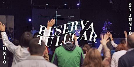 REUNIÓN PRESENCIAL - DOMINGO 27 JUNIO boletos