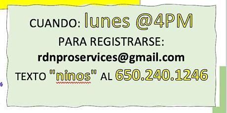 CLASES DE NUTRICIÓN PARA NINOS boletos