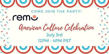 American Culture Celebration tickets