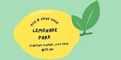 Lemonade Park Yoga tickets