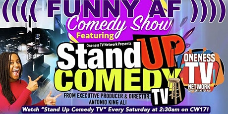 (((( PK FUNNY AF )))) ft. STAND UP COMEDY TV • COMEDY SHOW tickets