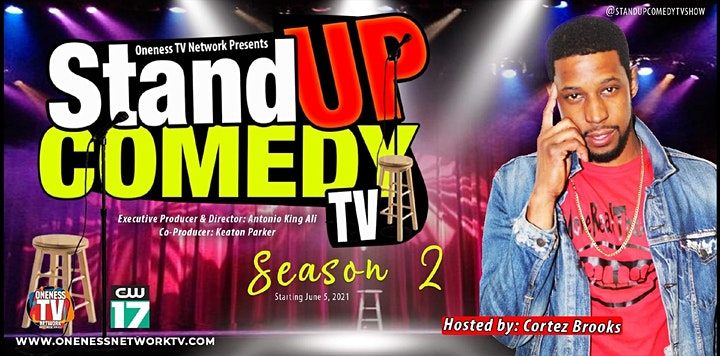 (((( PK FUNNY AF )))) ft. STAND UP COMEDY TV • COMEDY SHOW image