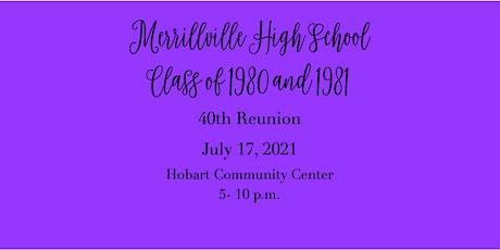 Merrillville High School  Class of 1980/1981  Reunion tickets