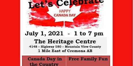 July 1 Canada Day Celebration tickets