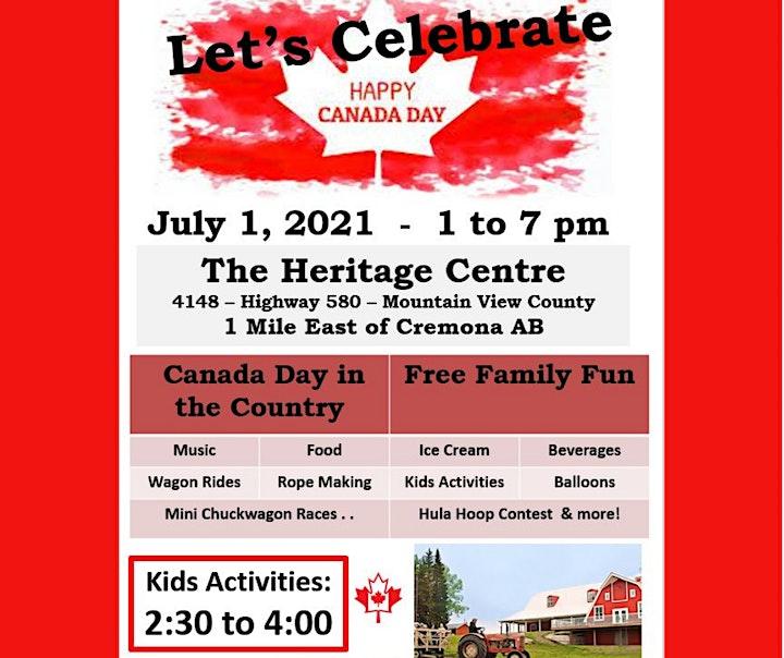July 1 Canada Day Celebration image