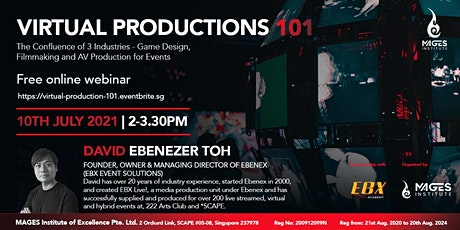 Virtual Productions 101 tickets
