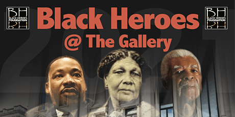 Black Heores @ The Gallery - an exhibition of our Heroes tickets