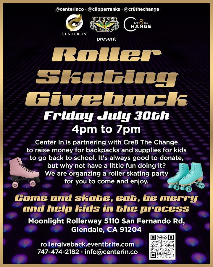 Roller Skating Giveback image