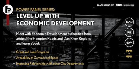 Power Panel Series: Level Up With Economic Development tickets