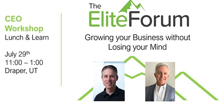 Growing your Business without Losing your Mind tickets