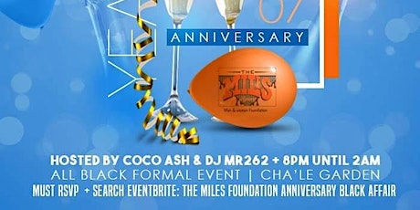The Miles Foundation Anniversary Black Sneaker Affair tickets