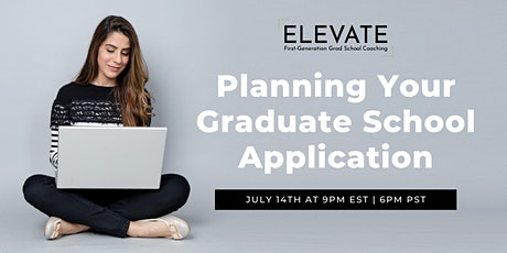 Planning Your Graduate School Application tickets