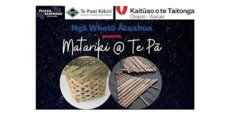 Haumietikeike - Manu Aute & Waikawa Mahi Toi tickets