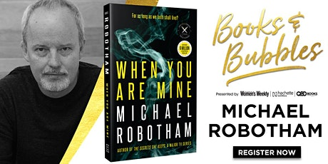 Books & Bubbles with Michael Robotham tickets