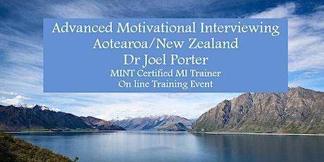 Advanced Motivational Interviewing: Building Skills - Aotearoa/New Zealand tickets