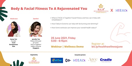 Body & Facial Fitness  To A Rejuvenated You tickets