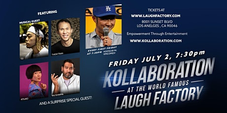 The  Laugh Factory presents: Kollaboration tickets