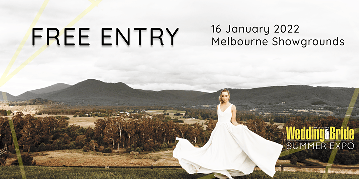 Melbourne Wedding And Bride Summer Expo 2022 image