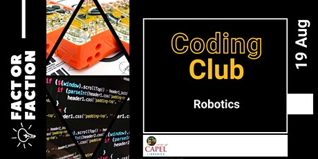 Fact or Faction 2021 - Coding club tickets