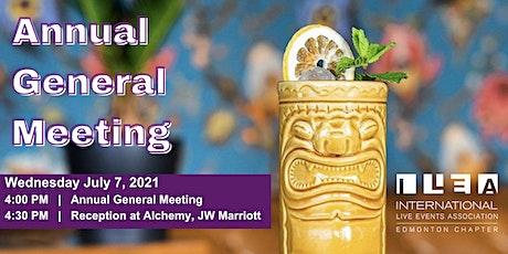 ILEA Edmonton Annual General Meeting tickets