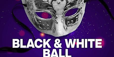 Black and White Mardi Gras ball tickets