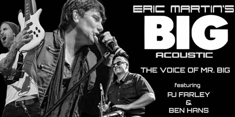 Eric Martin's BIG Acoustic tickets