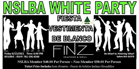 NSLBA Annual All In White Party ~ Fiesta Anual Todos de Blanco tickets