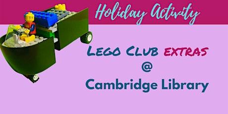 School Holiday Activity:  Lego Club Extras tickets