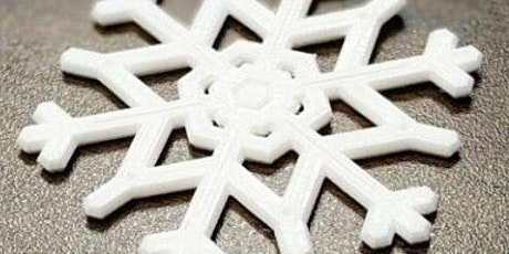 School Holiday Program - 3D Printing Snowflakes @ Glenorchy Library tickets