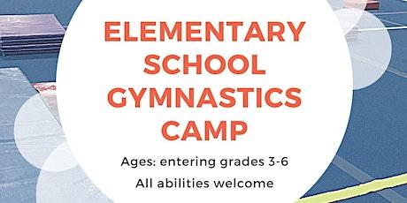 Elementary School Gymnastics Camp tickets