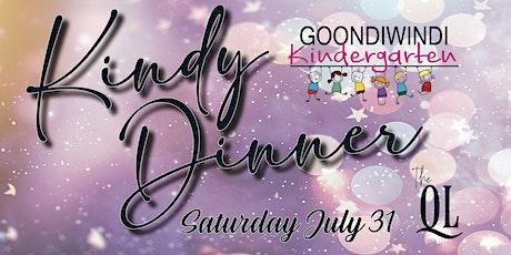 """2021 Goondiwindi Kindergarten """"Kindy Dinner"""" tickets"""