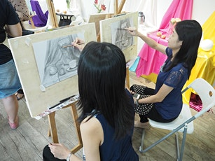 INTRO COURSE: Drawing & Sketching 8 Sessions Course for Two - AZ@Paya Lebar tickets
