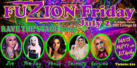 BG Fuzion Friday RAVE tickets