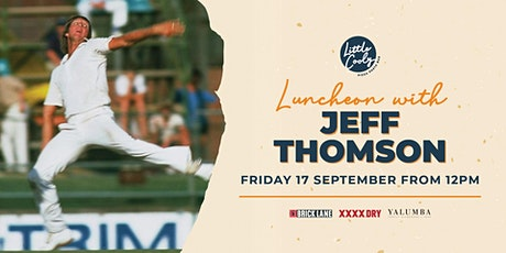 Luncheon with Jeff Thomson tickets