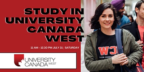 Study in University Canada West tickets