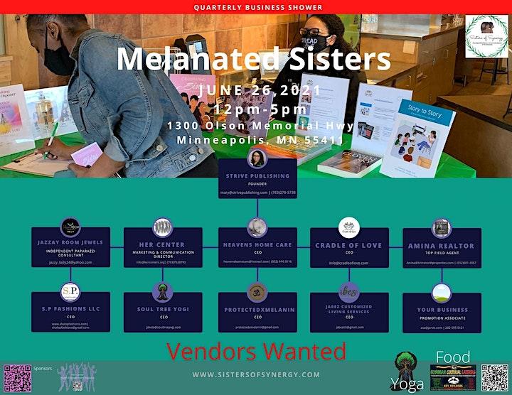 Melanated Sisters image